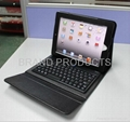 ipad 2/new ipad case cover with bluetooth keyboard