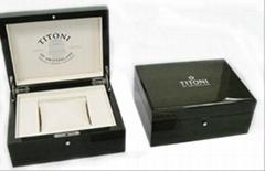 wooden watch box