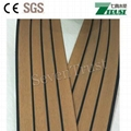 Commercial pvc teak boat decking price