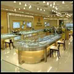 武漢珠寶展櫃製作