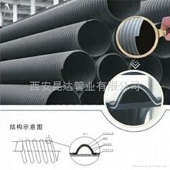 昆達HDPE鋼帶增強螺旋波紋管