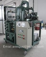 Vacuum transformer oil filtration machine