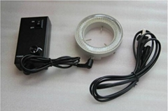 Brand New 60 LED Ring Light Illuminator for Stereo Microscope + Power Cable