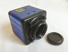 2.0MP HD 1080P C-mount Microscope Digital Camera VGA W/ Crosshair 1 2.7 inch