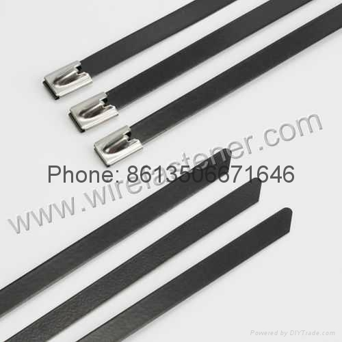 253bc709c662 PVC Coated 316 Stainless Steel Cable Ties - JH-4.6X360MM - JIONG ...