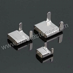 Stainless steel L type packing buckle