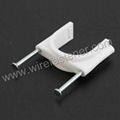 Brand Concrete Nail Plastic Cable Fixing  Clamp 2