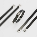 PVC Coated Stainless Steel Cable Tie From China Factory