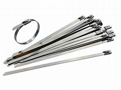 Stainless Steel Metal Cable Ties 4.6mm