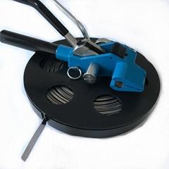 Semi-automatic metal wire tie machine;cable tie machine