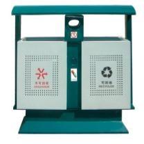 天津路邊冷軋板噴塑分類果皮箱送上門安裝