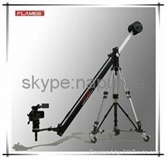 FLAMES 2.6 meter hand control camera crane, mini jib crane