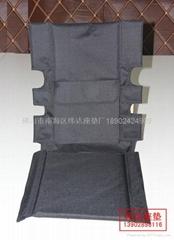 黑牛津布轮椅座垫
