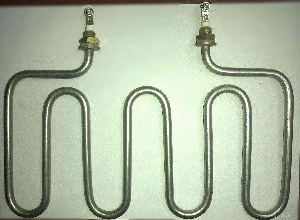 U型弯头干烧 双U型  W型离心合机电热管 5