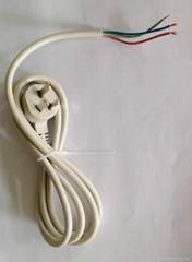 0.75平方灰白色电源线