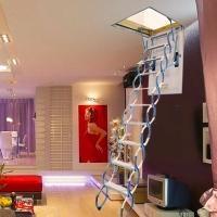 伸縮樓梯 1