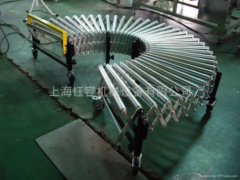 伸缩式输送机,上海钰容机械 1