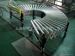 伸缩式输送机,上海钰容机械