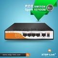2015 xtdp-link 4 port POE switch