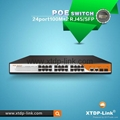 OEM 24+2 gigabit combo web smart vlan