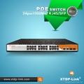 xtdp-link 24 port poe switch with 2