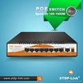 8 port 10/100/1000mbps gigabit poe