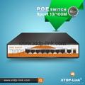 OEM 8 port poe switch with 1 uplink