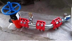 煤矿远距离供液回液管路