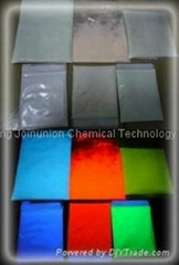 Photoluminescent pigment (glow-in-the dark powder) for printing ink and artwork
