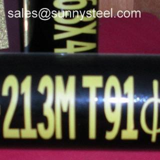 ASTM A213 T91 Seamless alloy tube 3