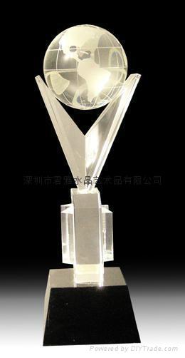 定做水晶礼品水晶奖杯 1