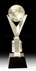 定做水晶礼品水晶奖杯