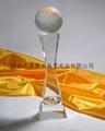定做水晶禮品水晶獎杯 2
