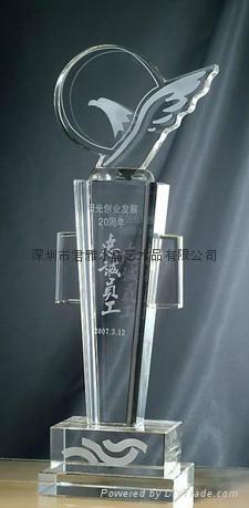 定做水晶礼品水晶奖杯 4