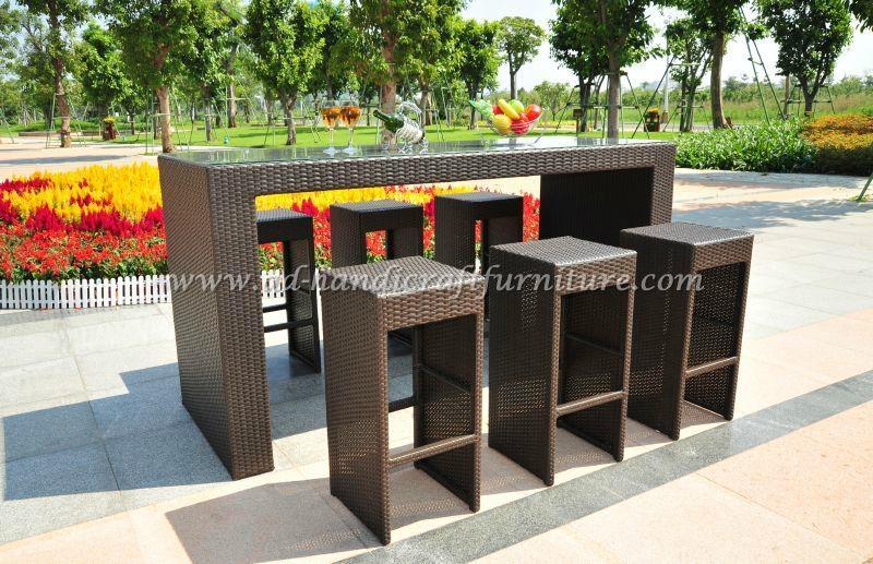Poly Rattan Bar Set Prbs 001 Ad Vietnam Manufacturer