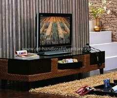 water hyacinth TV cabinet