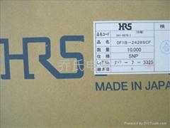 日本HRS广濑连接器DF1B-2428SCF