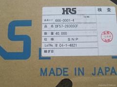DF57-2830SCF日本HRS广濑连接器