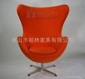 羊毛絨雞蛋椅(Egg Chai