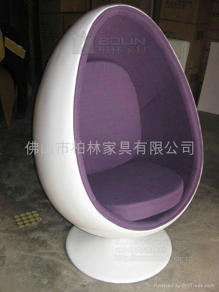 尖型球椅 1