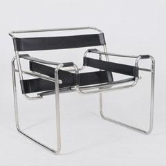 不锈钢瓦西里扶手椅