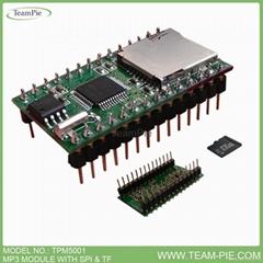 SPI FLASH/TF卡存儲串口控制MP3模組