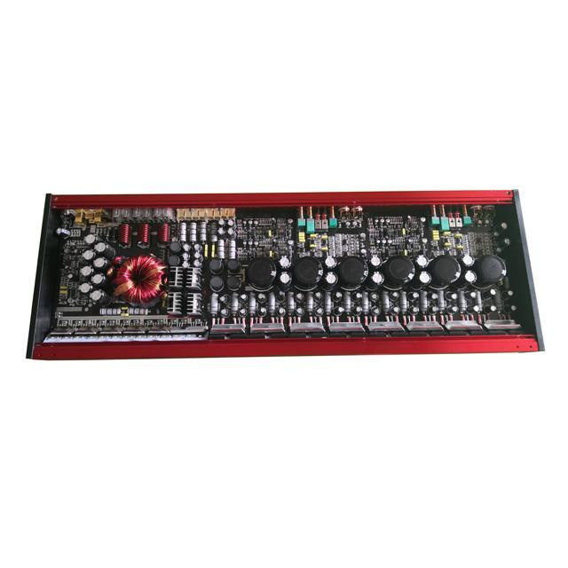 Car Amplifier 200W 4 Channel Car Audio Amplifier Mono Block Class AB 5