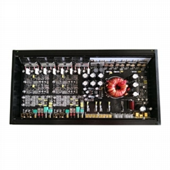 Car Amplifier 120W 4 Channel Car Audio Amplifier Mono Block Class AB