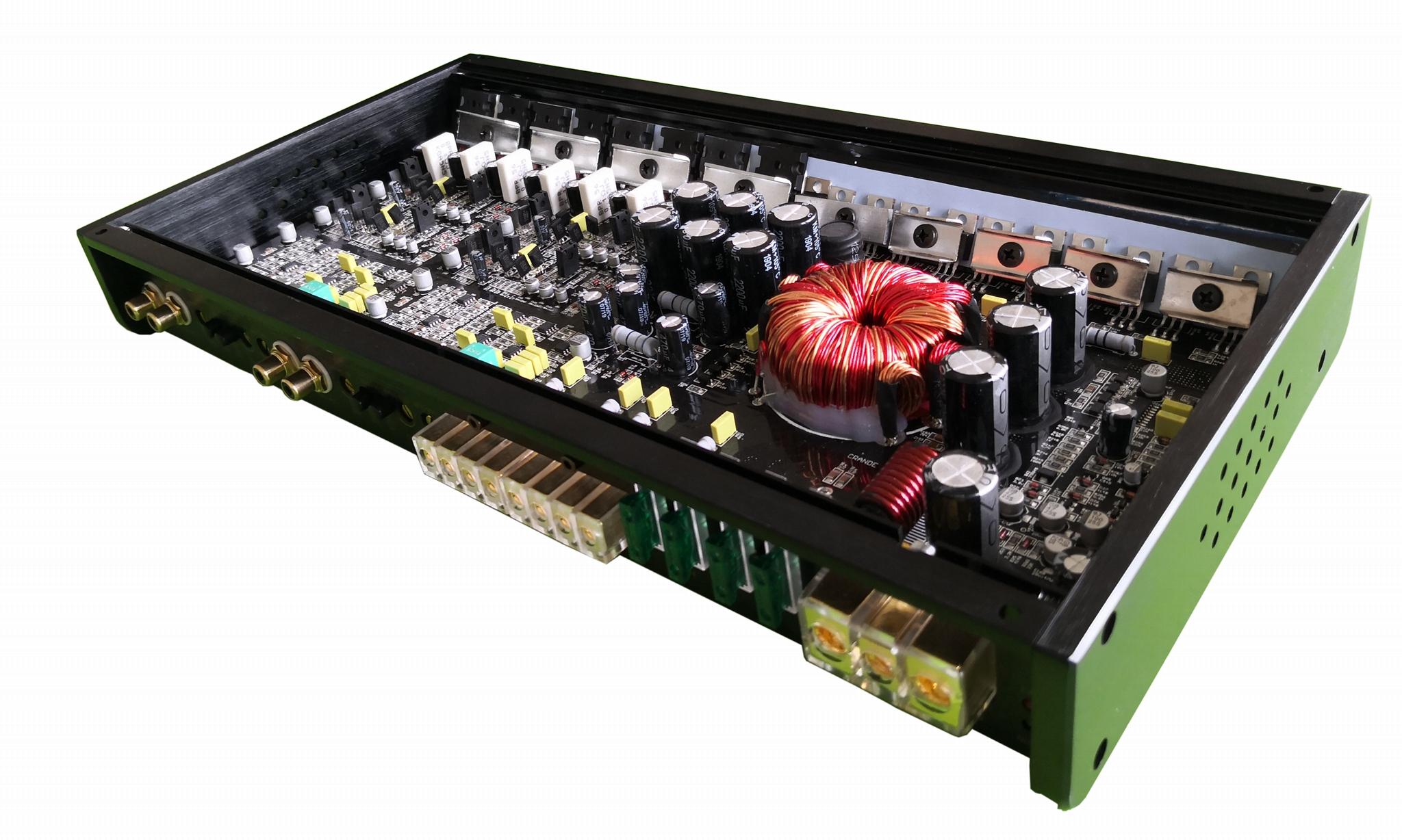 Car Amplifier 120W 4 Channel Car Audio Amplifier Mono Block Class AB 3