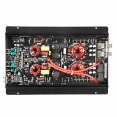 Professional High Power Car Amplifier 2500W Mono Block Class D