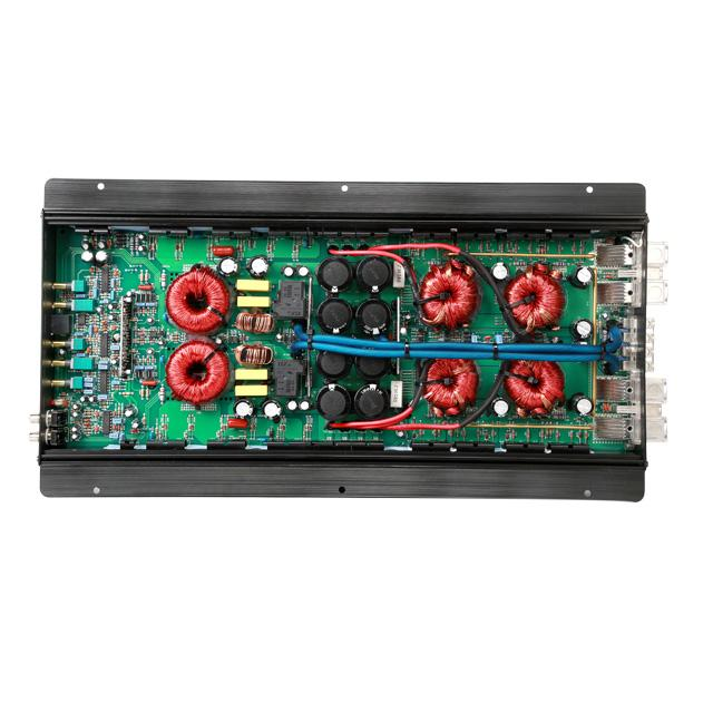 Professional High Power Car Amplifier 1500W Mono Block Class D 1
