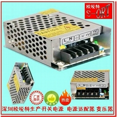 12V3A开关电源36W LED监控电源S-36-12
