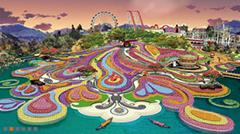 賽瑞景觀作品集--廣州萬達文化旅遊夢幻花園區-