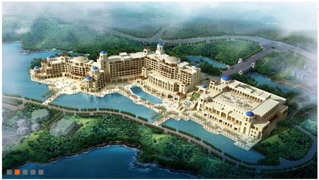 賽瑞景觀設計-生態旅遊度假區-昆明華僑城聖托里尼酒店 2